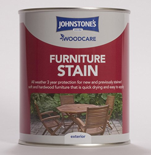 0.75ltr - Johnstone's Woodcare Furniture Stain Teak