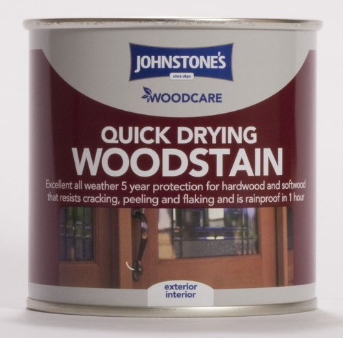 2.5LTR - JOHNSTONE'S WOODCARE WOODSTAIN WALNUT