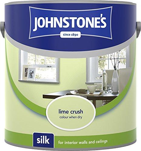 Johnstone's 306581 2.5 Litre Silk Emulsion Paint - Lime Crush