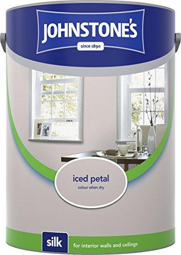 Johnstone's 306600 5 Litre Silk Emulsion Paint - Iced Petal