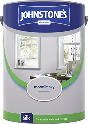 Johnstone's 307070 5 Litre Silk Emulsion Paint - Moonlit Sky