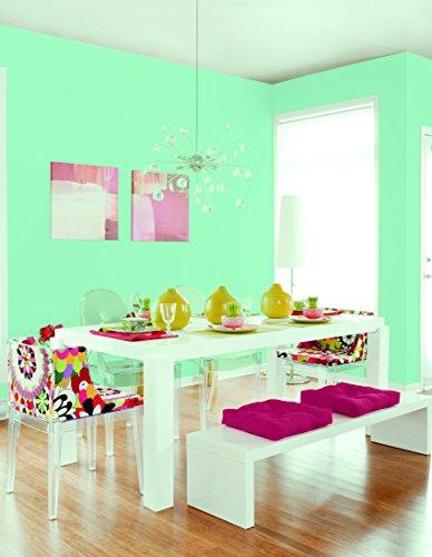Johnstone's 307785 2.5 Litre Colour Vibe Emulsion Paint - Miami Mint