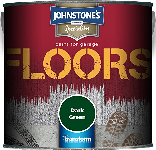 Johnstone's 307947 2.5 Litre Garage Floor Paint - Dark Green