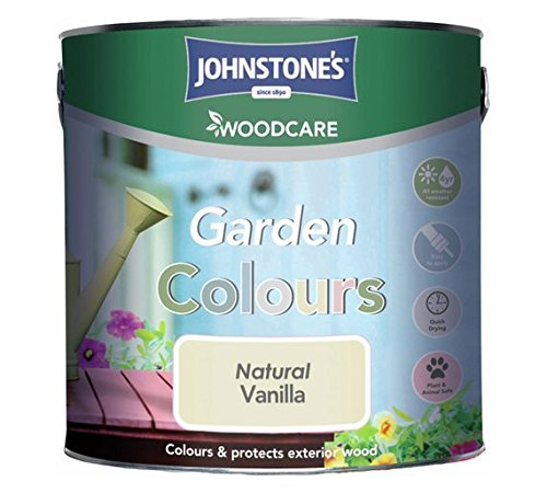 Johnstone's Garden Colour Softsheen Paint 2.5l-vintage Rose.
