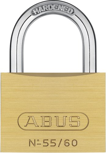 ABUS Mechanical 55/60 60mm Brass Padlock Keyed Alike