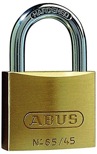 Abus 65/45mm Brass Padlock