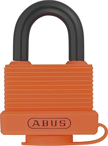 ABUS Mechanical 70AL/45 45mm Aluminium Padlock Orange Keyed Alike