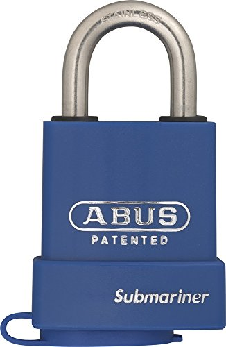 ABUS Mechanical 83WPIB / 53 Submariner Brass Body Stainless Steel Shackle Padlock