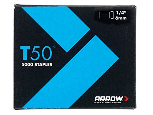 Advanced Arrow T50 6mm Staples (pack Of 5000) 1/4