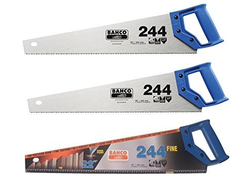 Bahco 24422fcs 2x244/22-inch Saws And 1x244/22-inch Fine Cut