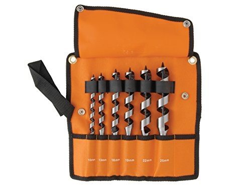 Bahco Combination Wood Auger Bit Set 6 Piece 10-25mm