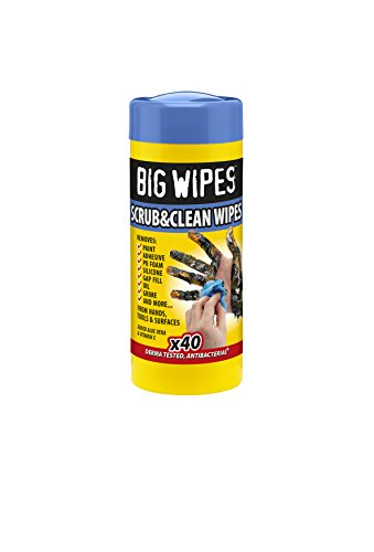Big Wipes Heavy-Duty Wipes Tub of 40