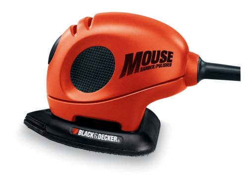 Black+Decker Mouse Detail Sander With Accessories