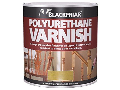 Blackfriar Polyurethane Varnish P100 Clear Satin 500ml