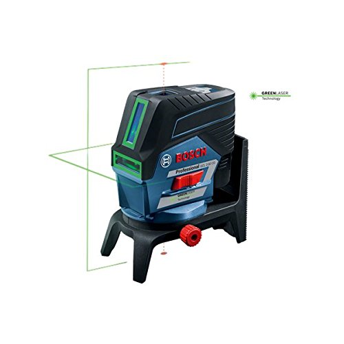 Bosch Gcl250cg 12v Green Cross Line Point Combi Laser Level And Rm2 Mount