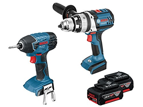 Bosch Professional 0615990j8a Dynamic Series Combi Drill, 18 V - Blue