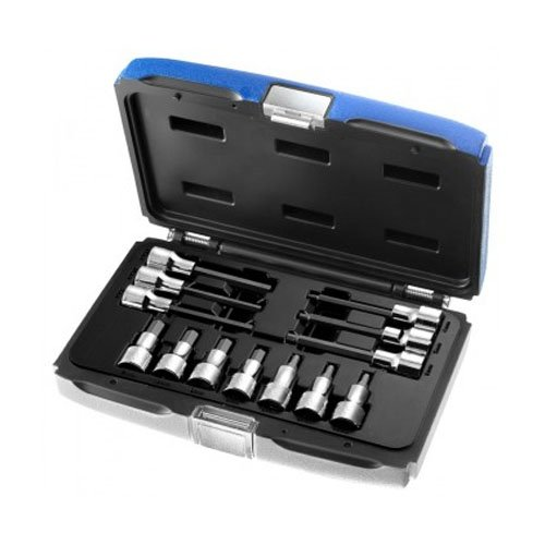 Britool Expert Hex Bit Socket Set of 13 1/2in Drive