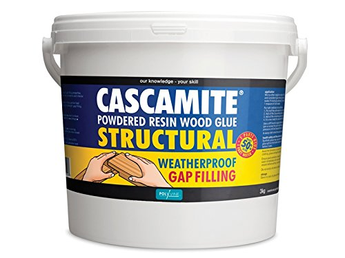 Cascamite Powdered Resin Structural Wood Adhesive Tub, 3kg
