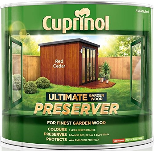 Cuprinol Ultimate Garden Wood Preserver Red Cedar 4 Litre