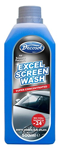 Decosol Excel Screen Wash 500ml