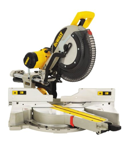 Dewalt 110v 305mm Compound Slide Mitre Saw With Xps