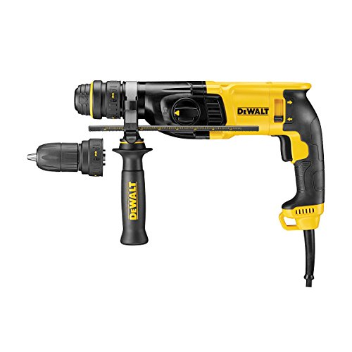 Dewalt Sds Plus 3 Mode Qcc Hammer Drill 800w 110v