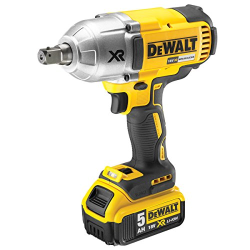 Dewalt Brushless High Torque Impact Wrench 18V 2 x 5.0Ah Li-Ion