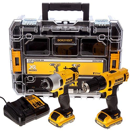 Dewalt XR Twin Pack 10.8V 2 x 2.0Ah Li-ion