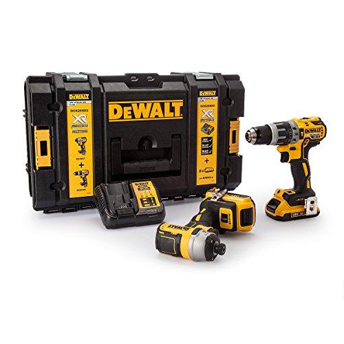 DEWALT DCK266D2 XR Brushless Twin Pack 18 Volt 2 x 2.0Ah Li-Ion