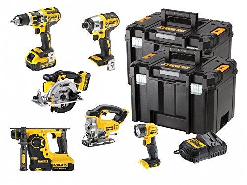 Dewalt Dck699m3t 18 V Cordless Kit (6-piece)
