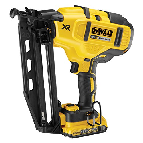 Dewalt Cordless XR Brushless Second Fix Nailer 18V 2 x 2.0Ah Li-Ion