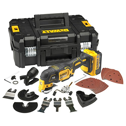 Dewalt Dcs355m1-gb 18v Li-ion Cordless Brushless Oscillating Multi-tool