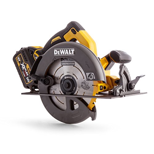 Dewalt Dcs575t2-gb Precision Circular Saw With 2 Batteries, 54 V, Yellow/black, 67 Mm, Set Of 8 Piece