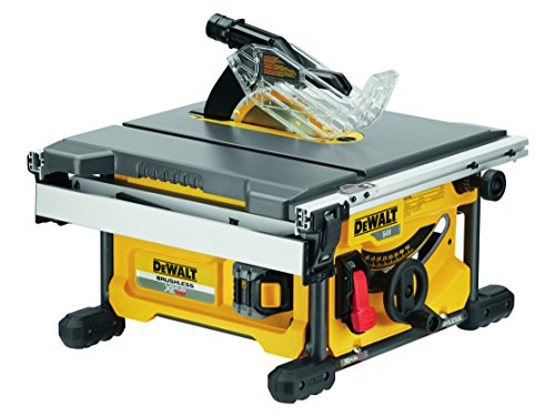 Dewalt Dcs7485t2-gb Xr Flex Volt Cordless Brushless Table Saw With 2 Dcb546 Batteries, 54 V, Yellow/black, Set Of 12 Piece