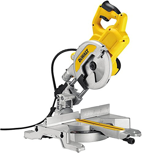 Dewalt Dws777 Xps Sliding Mitre Saw, 240 V, Black/yellow, 216 Mm, Set Of 5 Piece