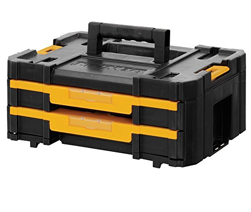Dewalt T-staktool Storage Box With 2-shallow Drawers