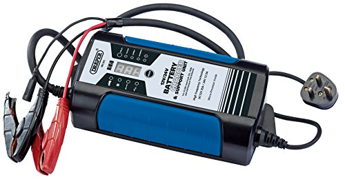 Draper Ibc26s 25 A Battery Charger, Blue