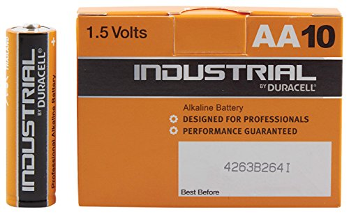 Duracell Professional Industrial Batteries Pack of 10 - AA