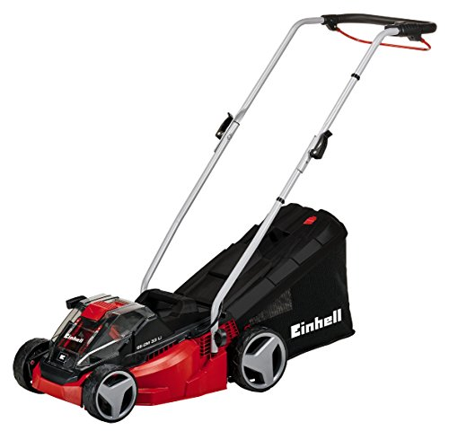 Einhell Power X-Change Cordless Lawnmower 33cm 36V 2 x 18V 2.0Ah Li-Ion
