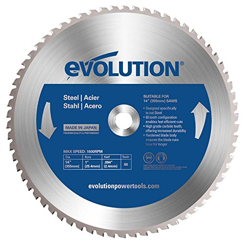 Evolution Mild Steel Carbide-tipped Blade, 355 Mm
