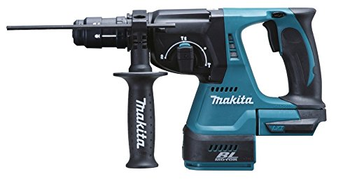 Makita Dhr243z 18 V Li-ion Lxt Brushless Rotary Hammer, No Batteries Included