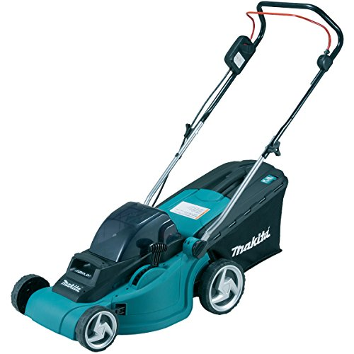 Makita Dlm380pf4 Twin 18 V Li-ion Lxt Lawn Mower Complete With 4 X 3.0 Ah Li-ion Batteries And Charger