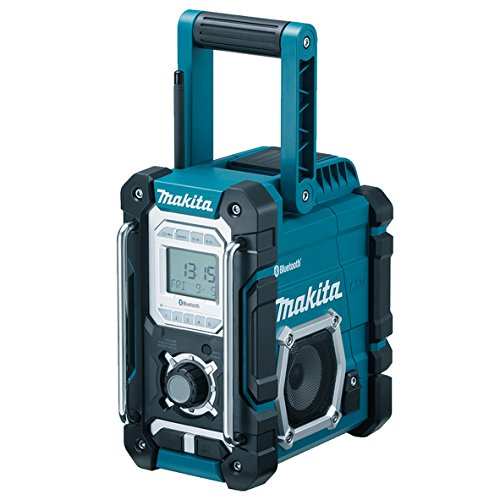 Makita Dmr106 Jobsite Radio With Bluetooth And Usb Charger - Blue/black