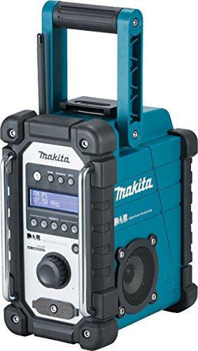 Makita Dmr109 Job Site Radio Dab, No Batteries Included