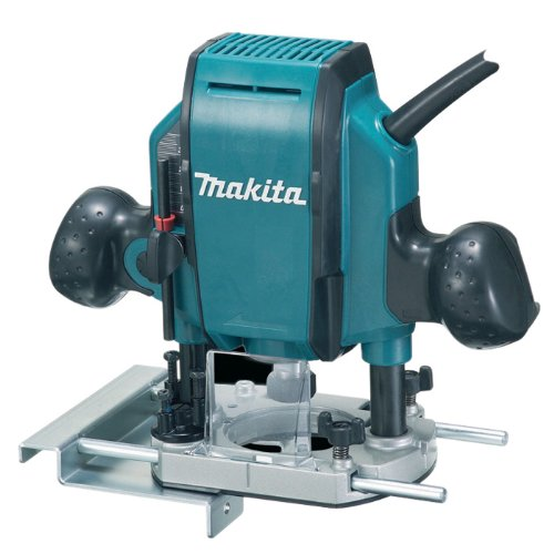 Makita Rp0900x 110 V 1/4 Or 3/8-inch Plunge Router In A Carry Case