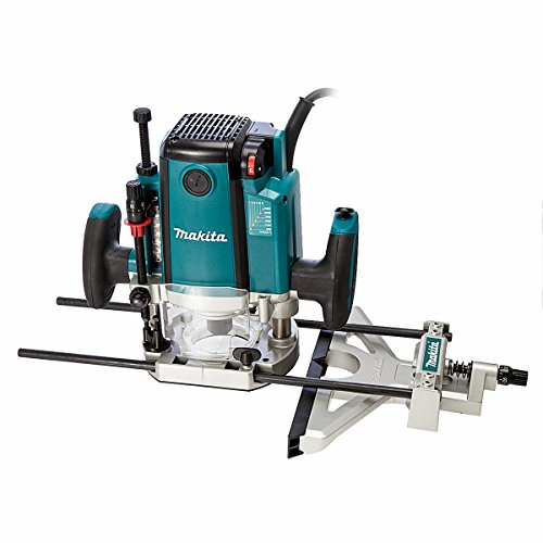 Makita Zmak-rp2301fcx 110 V 1/2-inch Plunge Router With Carry Case - Blue
