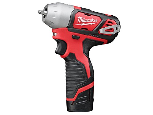 Milwaukee Sub Compact 1/4in Impact Wrench 12v 2 X 2.0ah Li-ion