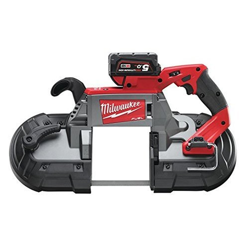 Milwaukee M18 CBS125-502C FUEL™ Deep Cut Bandsaw 18V 2 x 5.0Ah Li-Ion