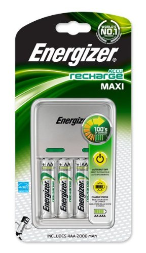 Energizer Charger For Rechargable Batteries
