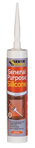 Everbuild General Purpose Silicone White 280ml